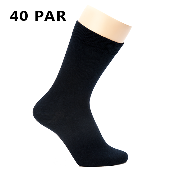 40 sorte sokker