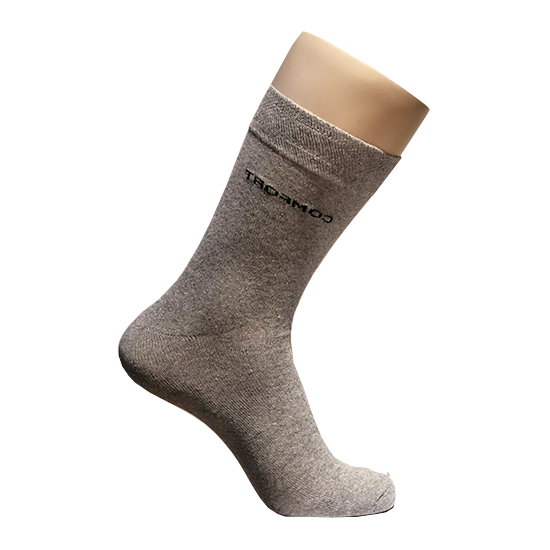 Lysegrå sokker